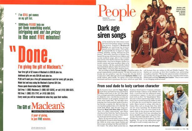 Article Preview: People, DECEMBER 14 1998 | Maclean's
