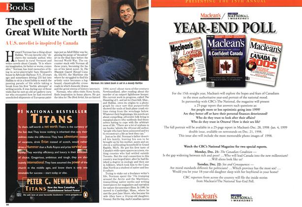 Article Preview: The spell of the Great White North, DECEMBER 14 1998 | Maclean's
