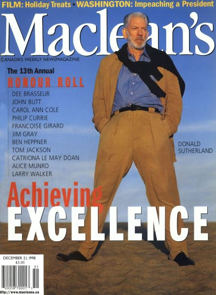 Issue: - December 1998 | Maclean's