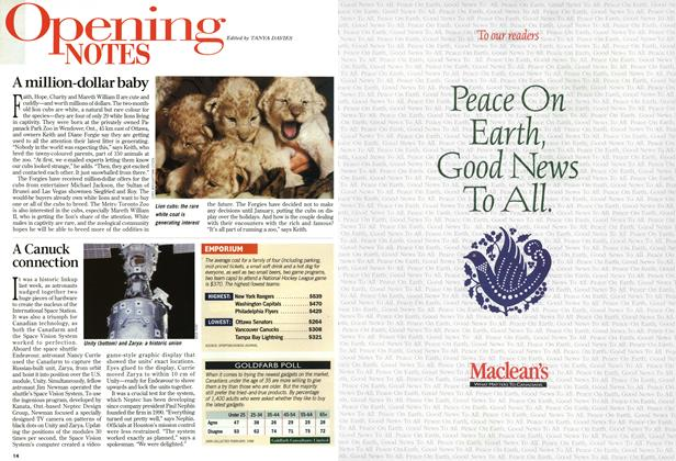Article Preview: Opening NOTES, December 1998 | Maclean's