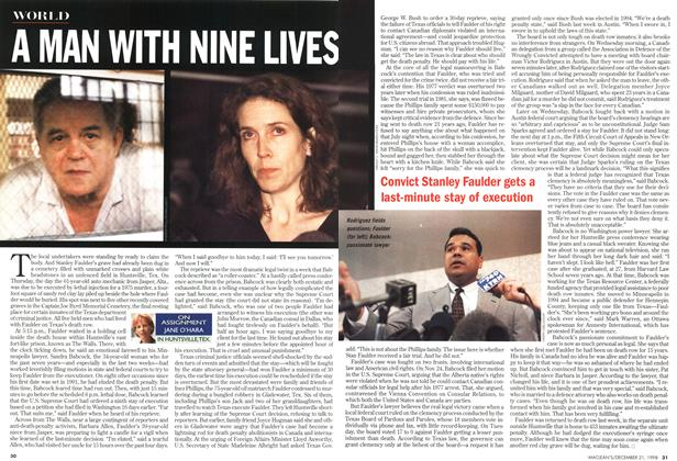 Article Preview: A MAN WITH NINE LIVES, December 1998 | Maclean's