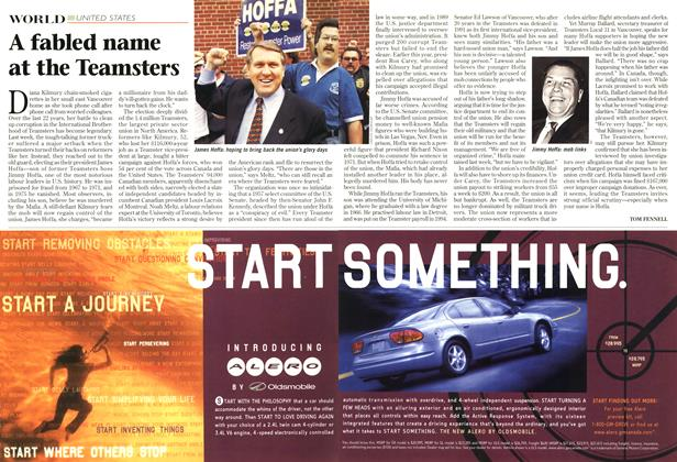 Article Preview: A fabled name at the Teamsters, December 1998 | Maclean's