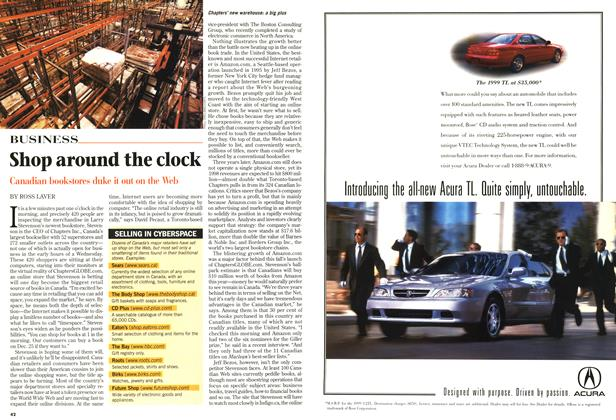 Article Preview: Shop around the clock, December 1998 | Maclean's