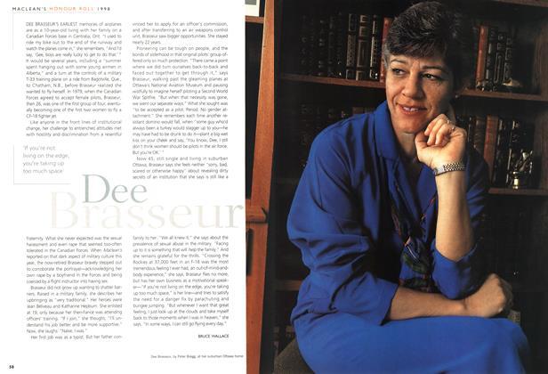 Article Preview: Dee Brasseur, December 1998 | Maclean's