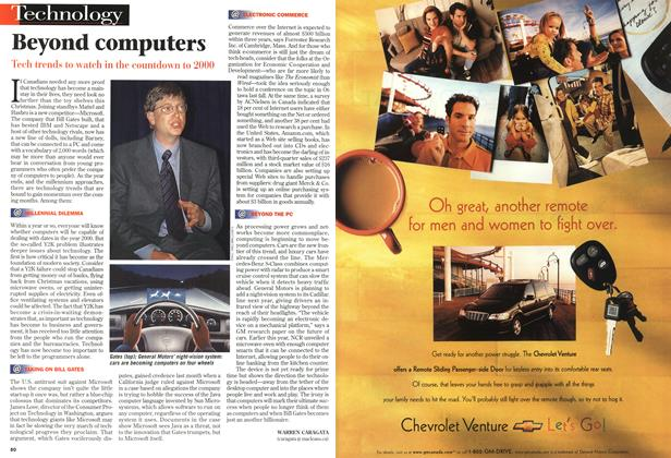 Article Preview: Beyond computers, December 1998   Maclean's