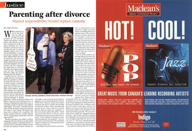 Article Preview: Parenting after divorce, December 1998 | Maclean's