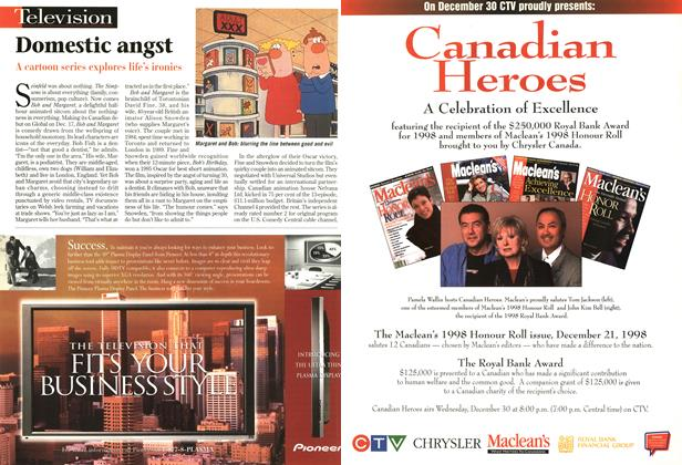 Article Preview: Domestic angst, December 1998 | Maclean's