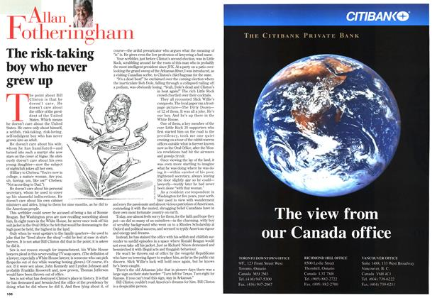 Article Preview: The risk-taking boy who never grew up, December 1998 | Maclean's