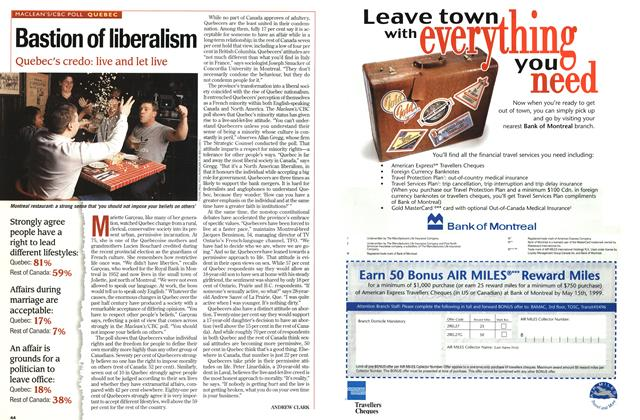 Article Preview: Bastion of liberalism, DECEMBER 28, 1998 / JANUARY 4, 1999 1998 | Maclean's