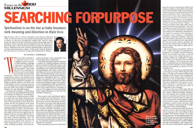 Article Preview: SEARCHING FOR PURPOSE, DECEMBER 28, 1998 / JANUARY 4, 1999 1998 | Maclean's