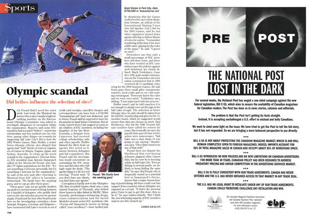 Article Preview: Olympic scandal, DECEMBER 28, 1998 / JANUARY 4, 1999 1998 | Maclean's