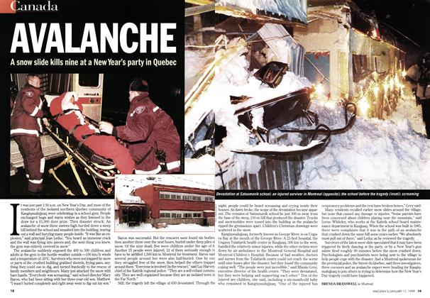 Article Preview: AVALANCHE, January 1999 | Maclean's