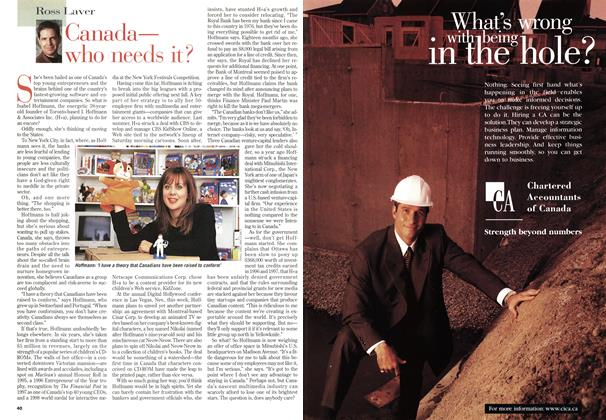 Article Preview: Canada— who needs it?, January 1999 | Maclean's
