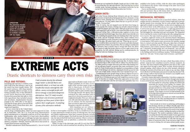 Article Preview: EXTREME ACTS, January 1999 | Maclean's