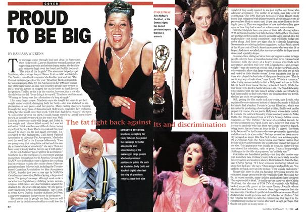 Article Preview: PROUD TOK BE BIG, January 1999 | Maclean's