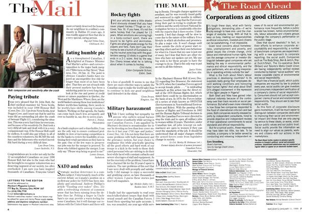 Article Preview: The Mail, January 1999 | Maclean's