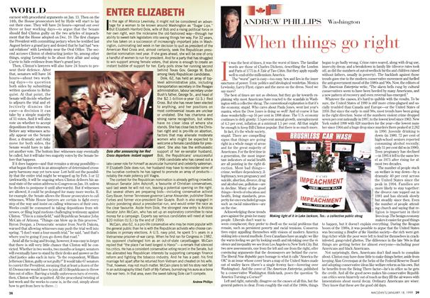 Article Preview: When things go right, January 1999 | Maclean's