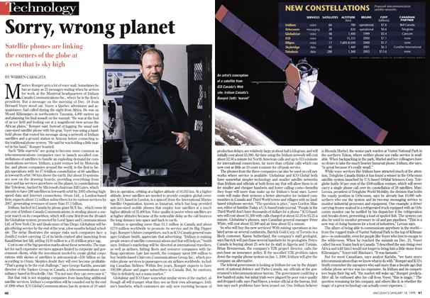 Article Preview: Sorry, wrong planet, January 1999 | Maclean's