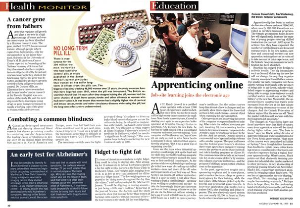 Article Preview: Apprenticing online, January 1999 | Maclean's