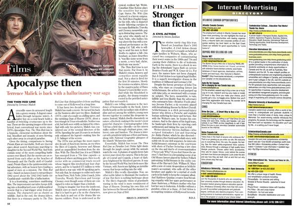 Article Preview: Stronger than fiction, January 1999 | Maclean's