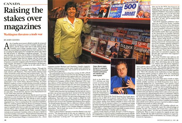 Article Preview: Raising the stakes over magazines, January 1999 | Maclean's