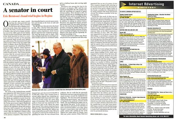 Article Preview: A senator in court, January 1999 | Maclean's