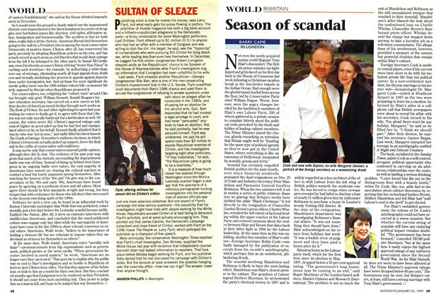 Article Preview: Season of scandal, January 1999 | Maclean's