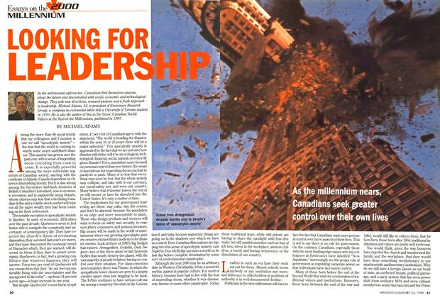 Article Preview: LOOKING FOR LEADERSHIP, January 1999 | Maclean's