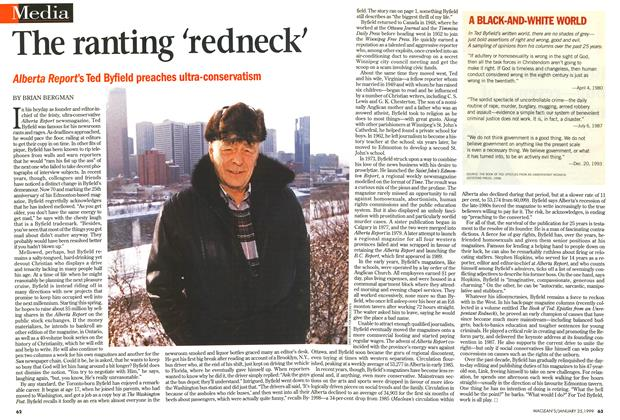 Article Preview: The ranting 'redneck', January 1999 | Maclean's