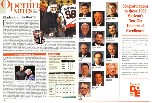 Article Preview: Opening NOTES, January 1999 | Maclean's
