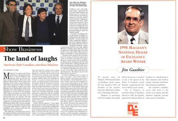 Article Preview: The land of laughs, February 1999 | Maclean's