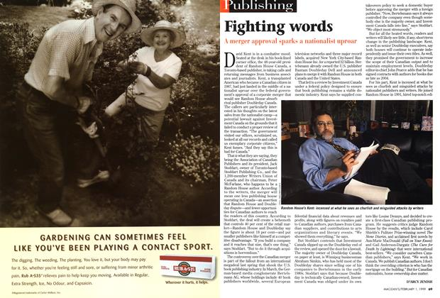 Article Preview: Fighting words, February 1999 | Maclean's
