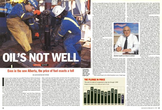 Article Preview: OIL'S NOT WELL, February 1999 | Maclean's