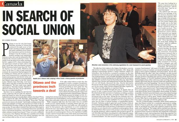 Article Preview: IN SEARCH OF SOCIAL UNION, February 1999 | Maclean's