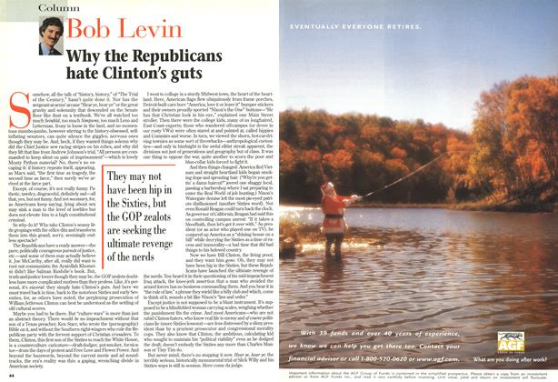 Article Preview: Why the Republicans hate Clinton's guts, February 1999 | Maclean's