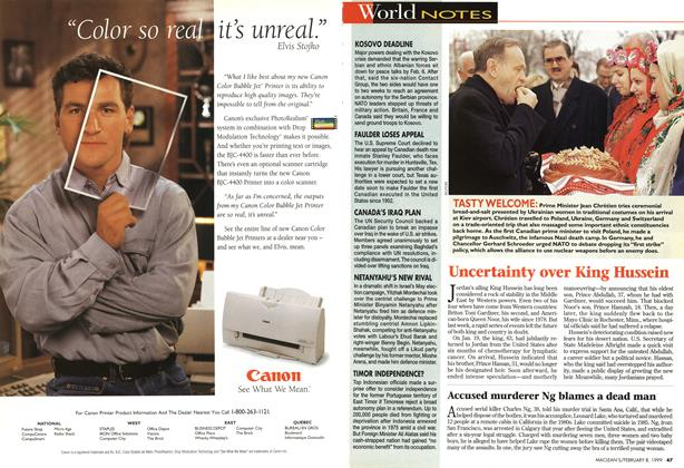 Article Preview: World NOTES, February 1999 | Maclean's