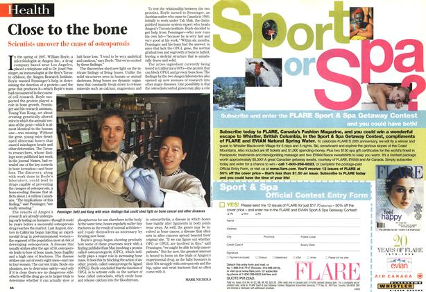 Article Preview: Close to the bone, February 1999 | Maclean's