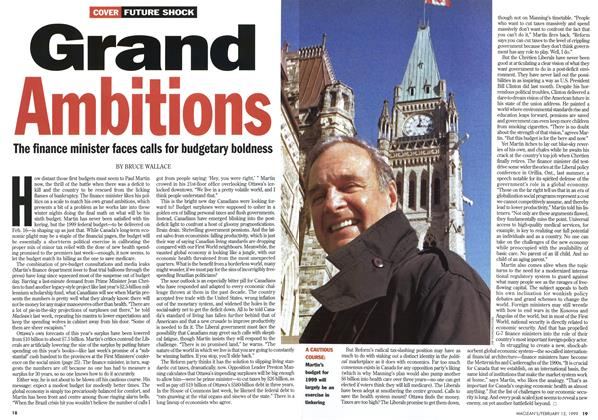Article Preview: Grand Ambitions, February 1999 | Maclean's