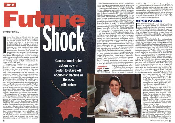 Article Preview: Future Shock, February 1999 | Maclean's