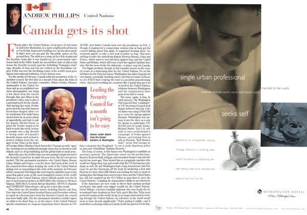 Article Preview: Canada gets its shot, February 1999   Maclean's