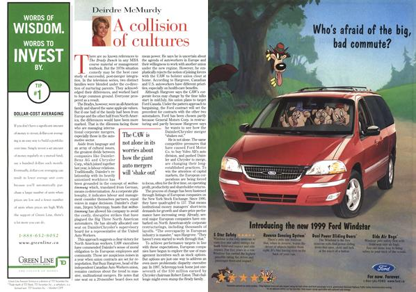 Article Preview: A collision of cultures, February 1999 | Maclean's
