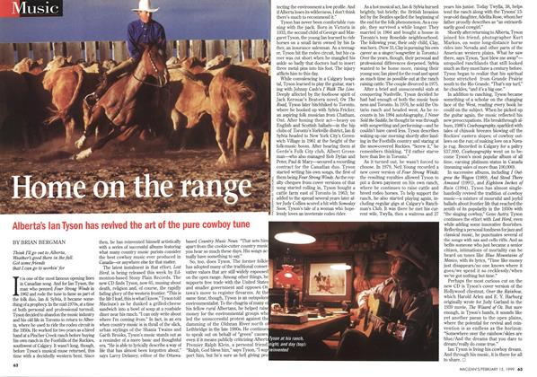 Article Preview: Home on the range, February 1999 | Maclean's