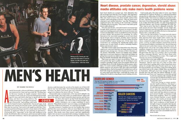 Article Preview: MENS HEALTH, February 1999 | Maclean's