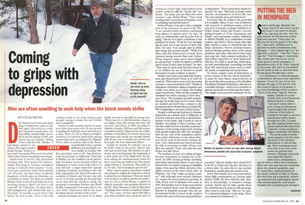 Article Preview: Coming to grips with depression, February 1999 | Maclean's