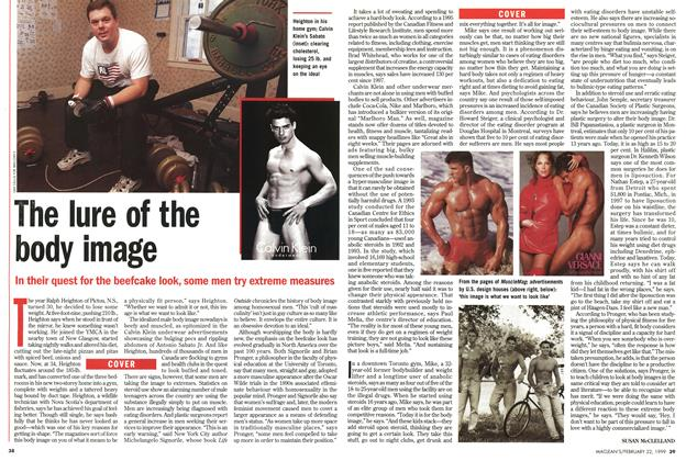 Article Preview: The lure of the body image, February 1999 | Maclean's