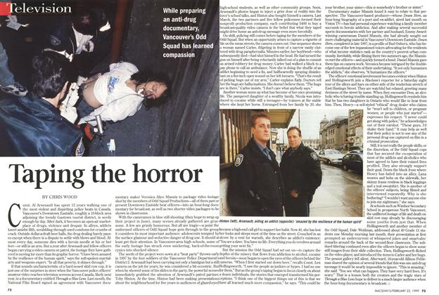 Article Preview: Taping the horror, February 1999 | Maclean's