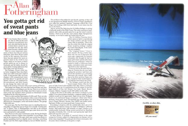 Article Preview: You gotta get rid of sweat pants and blue jeans, February 1999 | Maclean's
