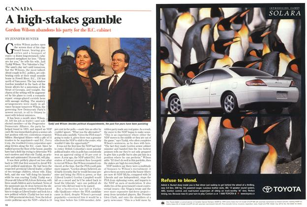 Article Preview: A high-stakes gamble, March 1999 | Maclean's