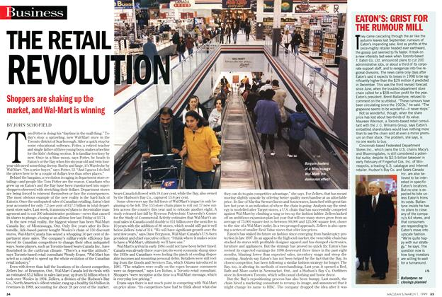 Article Preview: THE RETAIL REVOLUTION, March 1999 | Maclean's