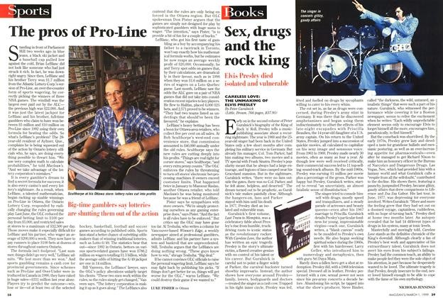 Article Preview: The pros of Pro-Line, March 1999 | Maclean's